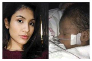Falleció el bebé de Marlen Ocha, la mexicana  asesinada para sacarle a su hijo del vientre