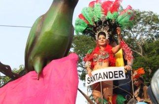Galería: Las mejores imágenes del desfile de carrozas en Montería