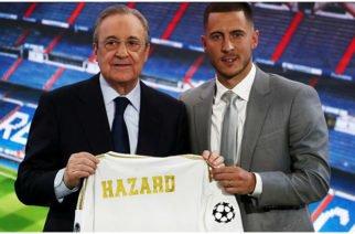 """""""Intentaré ser el mejor del mundo"""": Hazard tras su fichaje con el Real Madrid"""