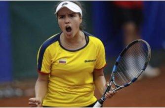 La colombiana María Camila Osorio solo tiene 17 años y se ubica como la número 1 en el tenis