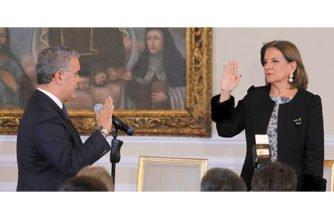 Margarita Cabello Blanco asumió como nueva Ministra de Justicia y del Derecho