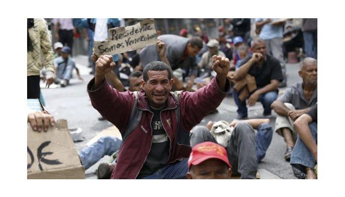 Michelle Bachelet llegó a Venezuela y sus ciudadanos salieron a protestar para exigir que se cumplan sus derechos humanos