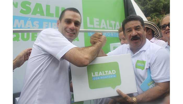 Oficial: Salin Ghisays entregó firmas y formalizó su inscripción como candidato a la alcaldía de Montería