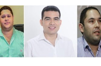 Orlando Benítez, Carlos Gómez y Carlos Angulo son quienes oficialmente aspiran a la Gobernación de Córdoba