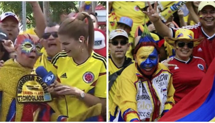 """Por """"Pena ajena"""" televidentes piden a Caracol eliminar `La fiesta del Gol´ que transmite previo a los partidos"""