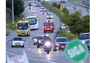 Puente festivo dejó 400 accidentes de tránsito y 48 muertos en Colombia