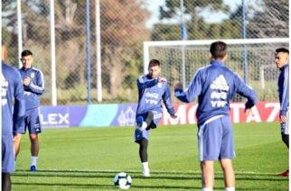 Selección argentina denunció espionaje a su entrenamiento desde un helicóptero