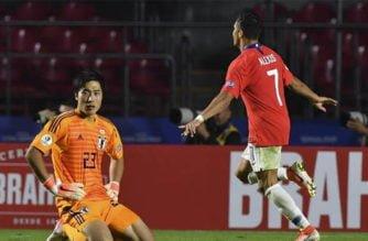 Sin compasión: La selección Chilena dejó a Japón en el campo con un marcador 4-0