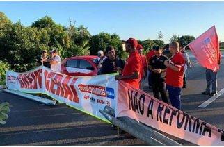Sindicatos brasileños inician huelga general contra reforma de jubilaciones impulsada por Bolsonaro