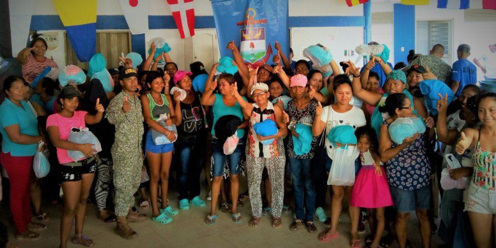 BEIM realizó jornada de apoyo  al desarrollo en comunidades Afro e  Indígenas en el Golfo de Morrosquillo