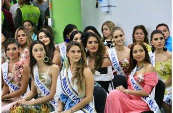 Ya están en Montería las candidatas al Reinado Nacional e Internacional de la Ganadería