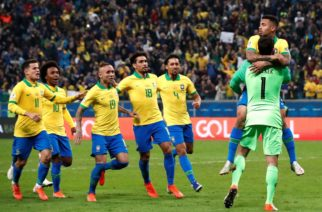 Juego sufrido: Con penaltis Brasil derrotó a Paraguay y se posiciona en las semifinales de la Copa América