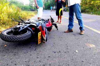 Choque entre dos motos en la vía Montería- Arboletes dejó un muerto y un herido