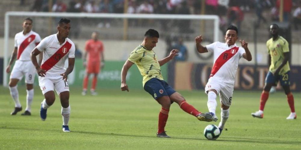 Colombia derrotó 3-0 a Perú en último amistoso previo a la Copa América