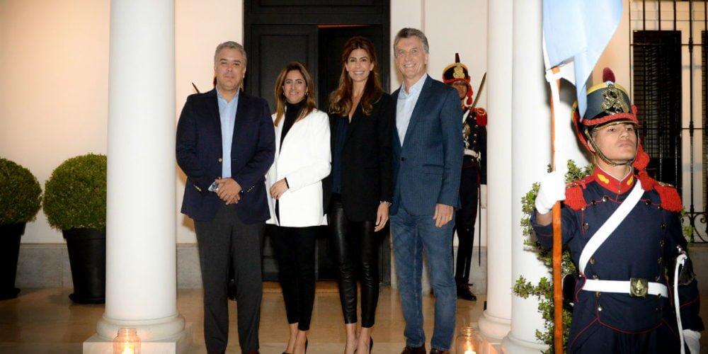 Duque arribó a Argentina para fortalecer relaciones y aumentar el comercio