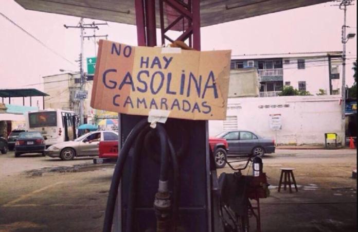 Trabajadores petroleros anuncian que Venezuela se quedará sin gasolina en un mes