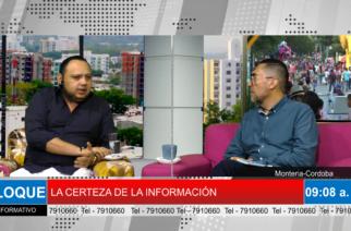 EXCLUSIVA: Andrés Chica desmiente haber señalado como paramilitares a la familia del alcalde de Tierralta