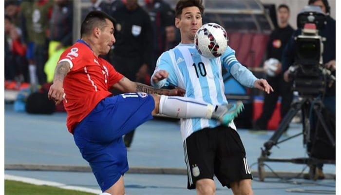 ¡Tercer Round! Messi y Medel tienen fecha para  la revancha