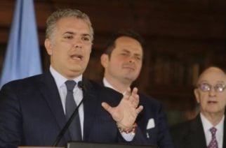 Presidente Duque afirma que 'Márquez', 'Romaña' y 'El Paisa' están en Venezuela