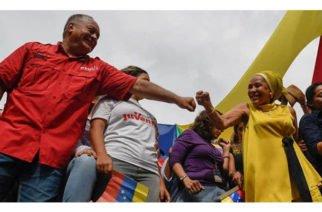 Así expresó Piedad Córdoba su afecto por Nicolás Maduro y Diosdado Cabello