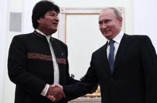 Putin y Evo Morales firmaron acuerdos militares y volvieron respaldar a Maduro