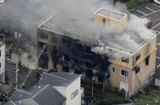 Pánico en Japón: Incendio en estudio de animación acabó con la vida de 33 personas