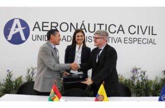 Colombia firma memorandos de entendimiento con Aruba y Bolivia para mejorar su sector aéreo