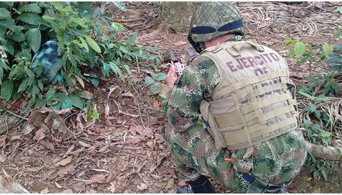Cordobexia denunció presencia de artefactos explosivos en corredor de San José de Uré