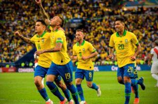 Brasil conquista su novena Copa América tras someter a Perú 3-1
