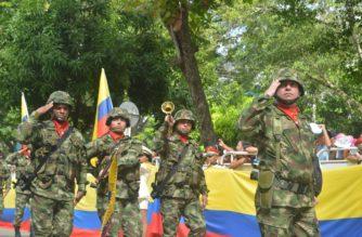 En conmemoración al 20 de julio: Así transcurrió el desfile militar y policial en Montería (+FOTOS)