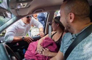 Duque llega a Tarazá para evaluar actos vandálicos cometidos por miembros del ELN