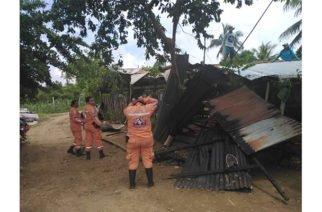 En San Pelayo vendaval afectó a más de 200 viviendas