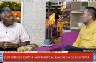 Entrevista con 'Lucho' Jiménez, aspirante a la Alcaldía de Montería