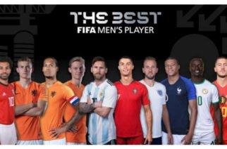 Estos son los 10 nominados para el premio The Best en el fútbol mundial