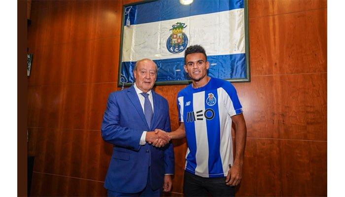 Hasta 2024 y con el número 7: Luis Díaz fue presentado oficialmente en el Porto