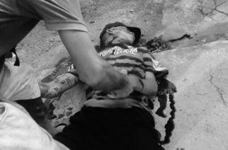Apodaban 'El Vinagre' a hombre asesinado a bala en barrio Héroes de la Patria