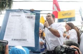 Carlos Gómez inscribió su candidatura a la Gobernación de Córdoba