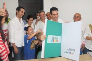 """Con la consigna """"Ahora la Gente"""", Carlos Ordosgoitia inscribió formalmente su candidatura a la alcaldía de Montería"""