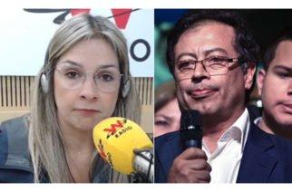 """Le pidió que """"sea serio"""": El rifirrafe en Twitter entre Vicky Dávila y el senador Gustavo Petro"""