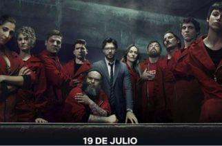 Mañana se estrena en Netflix tercera temporada de La Casa de Papel
