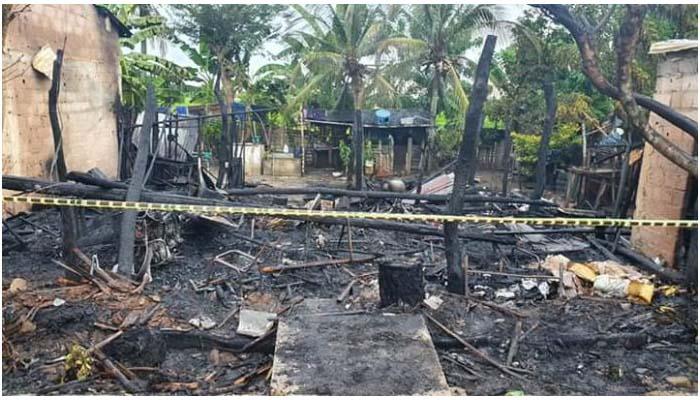 Pánico en Sahagún: Voraz incendio acabó con una vivienda y la tranquilidad de una familia