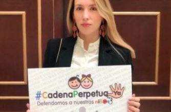 Representante Piedrahita anuncia legislatura de proyecto que busca cadena perpetua para violadores de niños