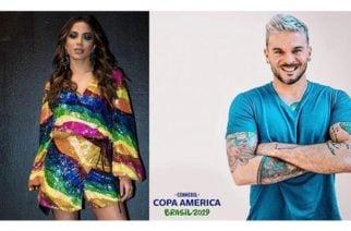 Pedro Capó y Anitta pondrán la cuota musical en la clausura de la Copa América