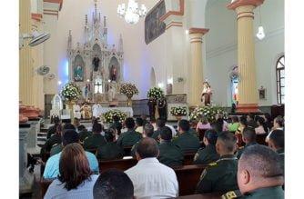 Policía de Córdoba y Metropolitana celebró solemne eucaristía para conmemorar a su patrona