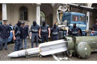 Policía de Turín decomisó un misil de guerra a hinchas de la Juventus