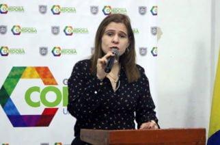 """""""En el sur de Córdoba convergen 'Los Caparros', 'Clan del Golfo' y disidentes"""": Gobernadora Devia"""