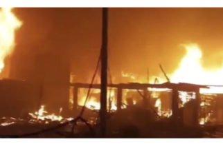 Tragedia en Lima: Voraz incendio destruyó 200 casas a solo horas de la inauguración de los Juegos Panamericanos