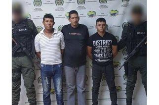Tres integrantes del Clan del Golfo fueron capturados en Sahagún y Chinú