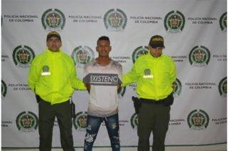 """Video: Capturan en Montería por homicidio a """"El Gallero"""""""