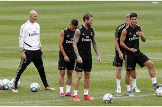 Zidane regresó a Canadá para dirigir al Real Madrid